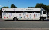 Bücherbus der Stadtbücherei Münster