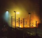 Bild Stahl-Art  | Kokerei | Kurz vor der Stillegung: nächtliche Szene auf der Cokeries d'Anderlues, einer Kokerei zur Herstellung von Gießereikoks | (c) 2001