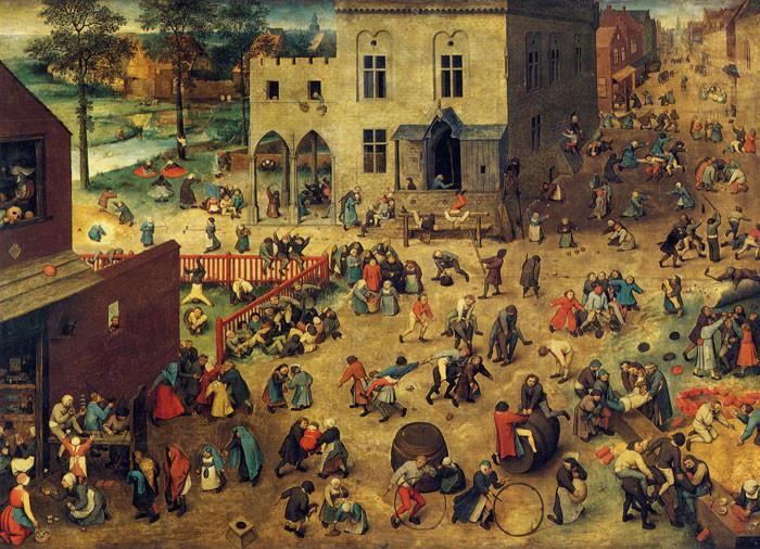 Pieter Brueghel d. Ä. (1526-1569): Kinderspiele