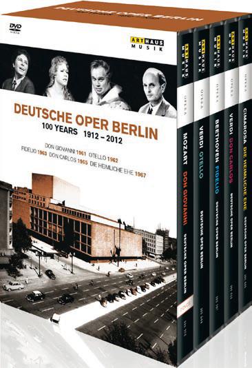 Cover DVDBox © Arthaus Musik