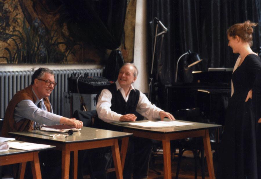 Christopher Hogwood bei Proben zu Matthäus-Passion © kranichphoto