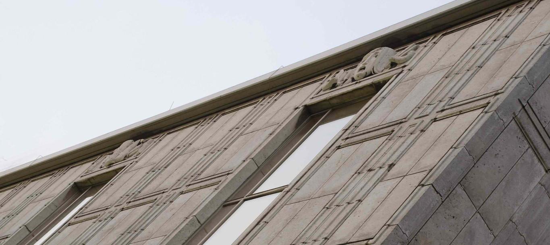 Opernhaus Düsseldorf, Detailsansicht der Fassade | (c) Hans-J�