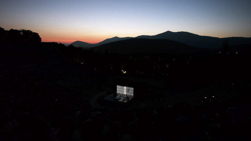 »Othello« in Epidauros 2010