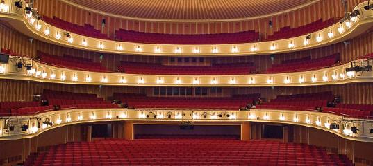 Zuschauerraum im Opernhaus Düsseldorf | (c) Hans Jörg MIchel