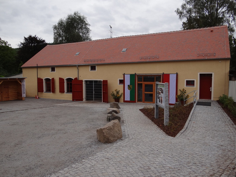 """Granitdorf Demitz-Thumitz mit Erlebnismuseum """"Alte Steinsäge"""""""