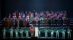 Tannhäuser und der Sängerkrieg auf Wartburg | Deutsche Oper Berlin | Foto: Bettina Stöß
