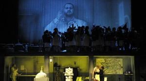 Rienzi, der letzte der Tribunen | Foyer der Deutschen Oper Berlin | Foto: Bettina Stöß