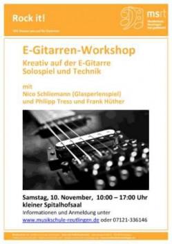 E-Gitarren-Workshop