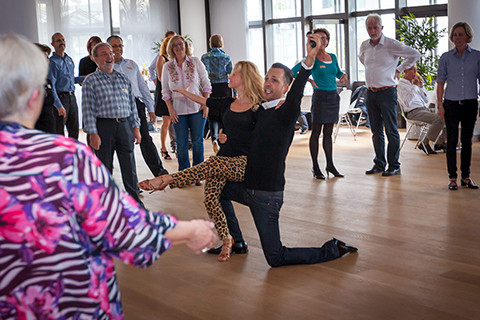Silvester: Gesellschafts Tanzparty mit Roman Frieling, Juror aus RTL-Tanzshow Let's dance