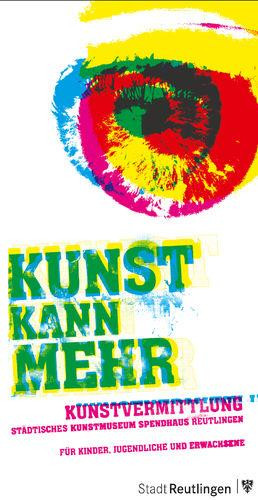 Faltblatt - Kunst kann mehr - Titel
